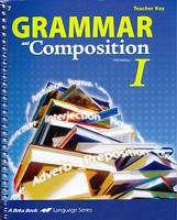 Grammar and Composition I (7), Teacher Key