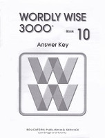Wordly Wise 3000, Book 10, Answer Key
