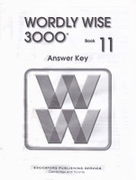 Wordly Wise 3000, Book 11, Answer Key