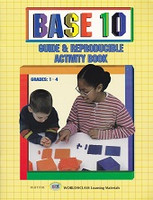 Base 10 Guide & Reproducible Activity Book, Grades 1-4
