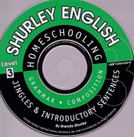 Shurley English Level 3 Jingles & Introductory Sentences CD