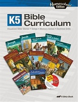 K5 Bible Curriculum, Homeschool Edition
