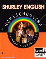 Shurley English 2 Homeschooling, CD + Teacher Manual Set