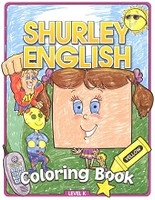 Shurley English Coloring Book, Level K