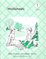 Bible 1, Unit 5, Worksheets