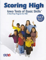 SRA Scoring High Iowa Tests of Basic Skills, Book 3 Set