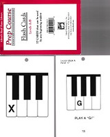 Alfred's Basic Piano Library, Levels A-B Flash Cards