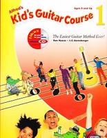 Alfred's Kid's Guitar Course 1 & CD Set
