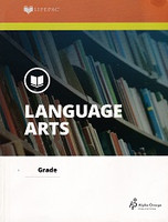 Language Arts 6 Lifepac Unit 10, workbook
