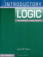 Logos School Materials Introductory Logic, Tests Booklet