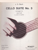 J.S. Bach Cello Suite No. 3 Arranged for Guitar