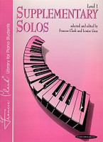 Supplementary Piano Solos, Level 1