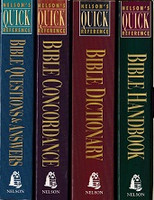 Nelson's Quick Reference 4 Study Books, in slipcase