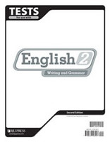 English 2 Writing and Grammar, 2d ed., Tests & Test Key Set