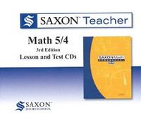 Saxon Teacher Math 5/4, 3d ed., 5 CDRom Set