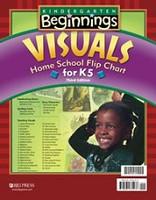 Kindergarten Beginnings: Visuals Flip Chart, 3d ed., K5