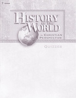 History of the World 7, Quizzes & Quiz Key Set