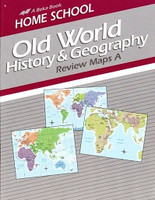 Old World History & Geography 5 Review Maps A