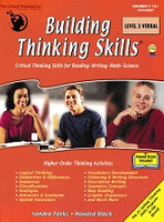 Building Thinking Skills, Level 3 Verbal workbook
