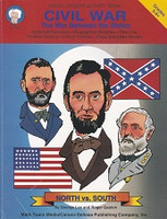 Civil War, the War Between the States, Activity Book