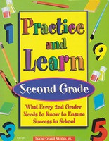 Practice and Learn, Second Grade