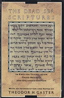 Dead Sea Scriptures, in English translation, 3d ed.