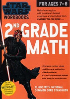 Star Wars 2nd Grade Math, workbook