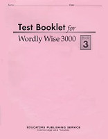 Wordly Wise 3000, Test Booklet, Book 3