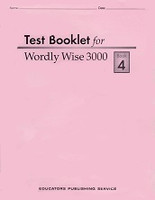 Wordly Wise 3000, Test Booklet, Book 4