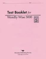 Wordly Wise 3000, Test Booklet, Book 5