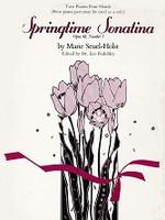 Springtime Sonatina, Opus 48, No. 3, Two Pianos, Four Hands