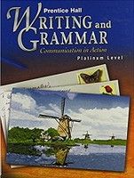 Prentice Hall Writing and Grammar 10, Platinum Level