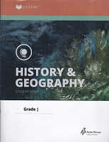 History & Geography 7 Lifepacs 9-10 Set