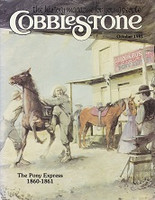 Cobblestone: The Pony Express, 1860-1861