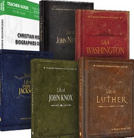 Christian History: Biographies of Faith 5 Books & Lessons
