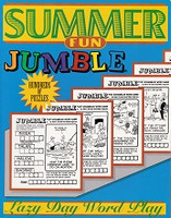Lazy Day Word Play Summer Fun Jumble