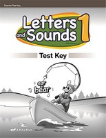 Letters and Sounds 1, 5th ed., Test Key