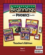 Beginnings with Phonics K5, 3d ed, 2 Vol Teacher Edition Set