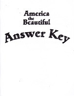 America the Beautiful, Answer Key