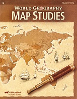 World Geography 9, Map Study Key