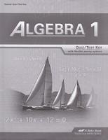 Algebra 1(9) Quiz-Test Key