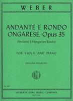 Andante e Rondo Ongarese, Viola and Piano