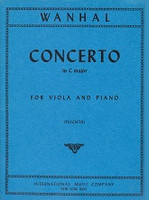 Concerto in C major for Viola and Piano