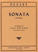 Eccles Sonata in G minor, Vila and Piano