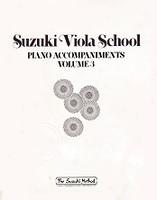 Suzuki Viola School, Piano Accompaniments, Volume 3