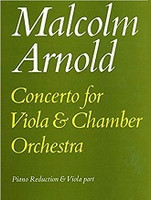Malcolm Arnold Concerto for Viola & Chamber Orchestra