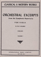 Orchestral Excerpts from Symphonic Repertoire for Viola V.I