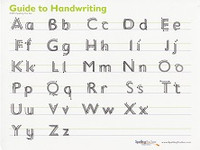 Spelling You See Guide to Handwriting, manuscript