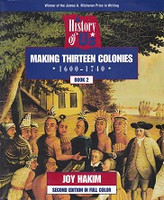 Making Thirteen Colonies, 1600-1740; Book 2, 2d ed.