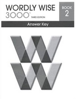 Wordly Wise 3000, 3d ed., Book 2 Answer Key
